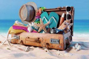 beach packing